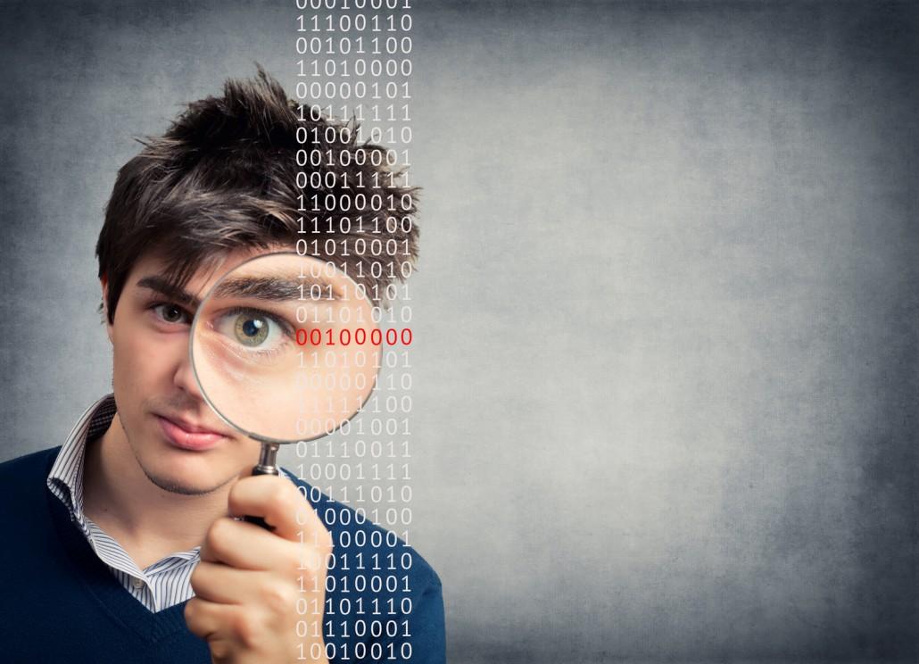 Binary code - Virus search