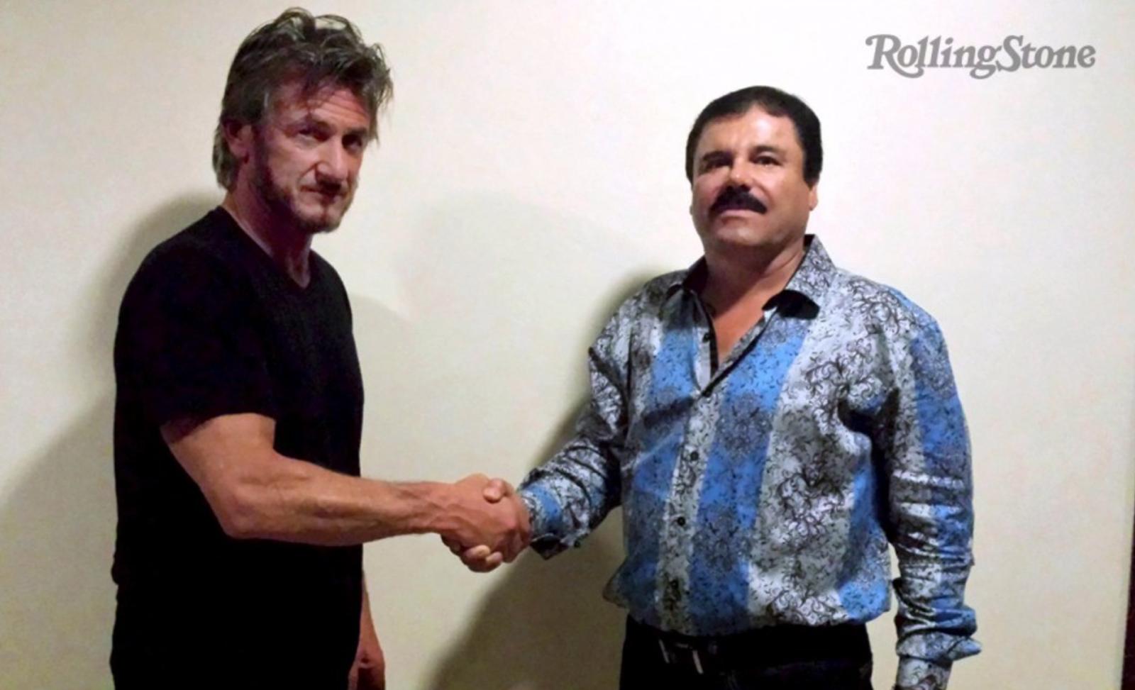 El Chapo+Sean Penn
